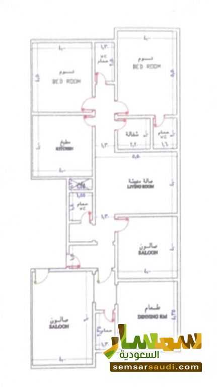 Photo 3 - Apartment 5 bedrooms 4 baths 197 sqm super lux For Sale Jeddah Makkah