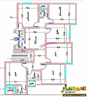 Apartment 5 bedrooms 3 baths 185 sqm super lux For Sale Mecca Makkah - 10