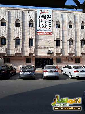 Apartment 1 bedroom 1 bath 85 sqm extra super lux For Rent Jeddah Makkah - 1